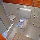 Basic Single Room, 1 Single Bed - Bathroom