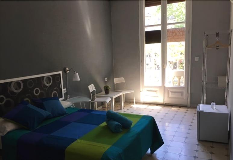 Hostel Friends Barcelona, Barcelona, Quarto casal, Banheiro privativo, Quarto