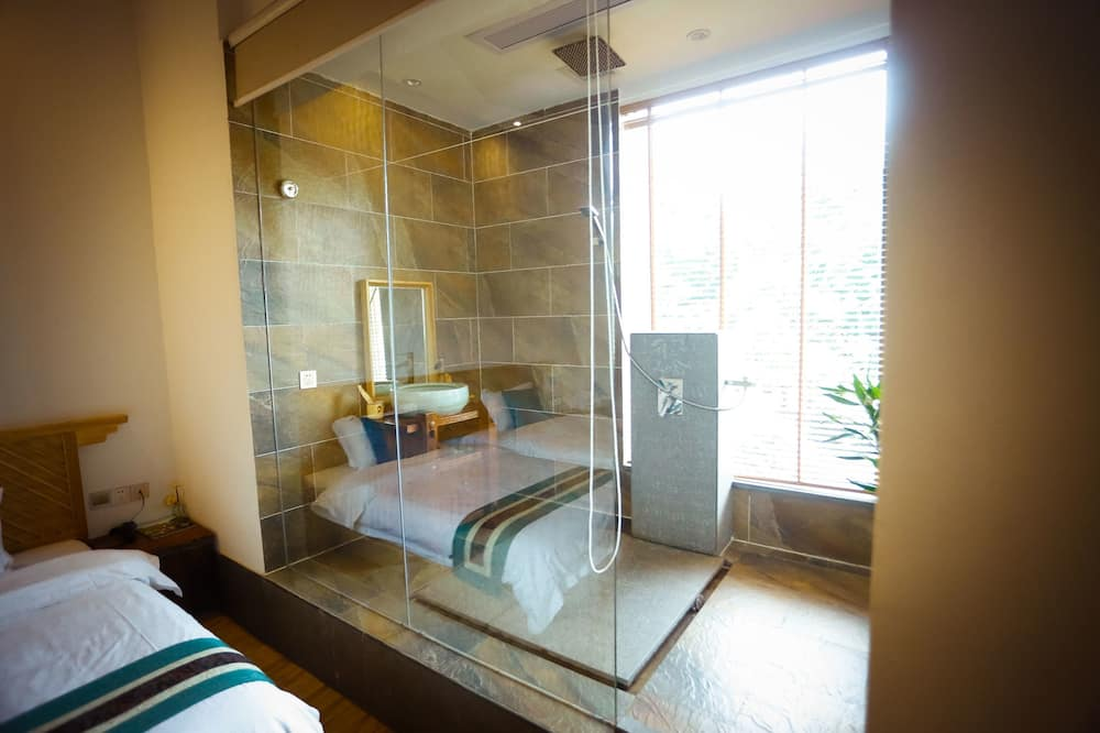 Signature Twin kamer, 1 slaapkamer, en-suite badkamer, Aan het meer - Badkamer