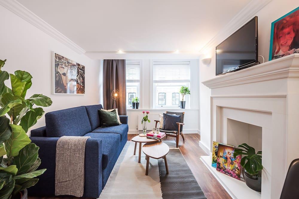 City Loft, 1 Bedroom - Living Room