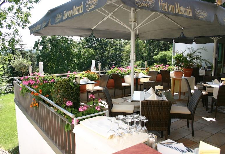 畢爾肯霍夫餐廳飯店, 哈瑙, 露台