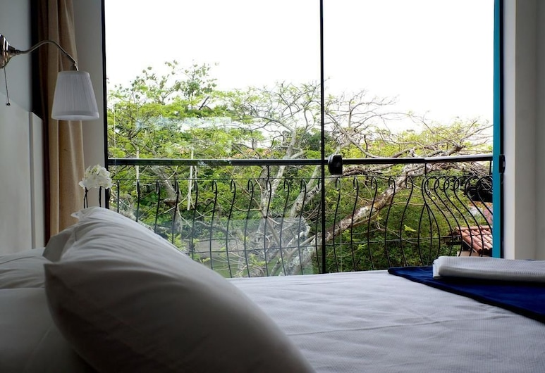 Flor Inn Praia Hotel, Флоріанополіс, Двомісний номер, з балконом, Номер