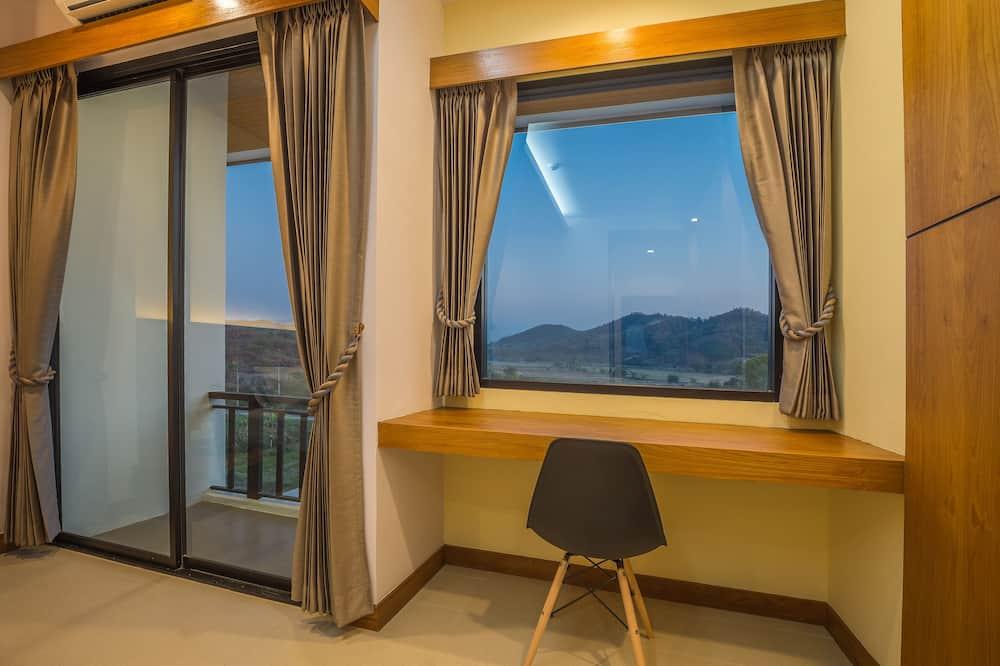 豪華雙人房, 1 張特大雙人床 - 客廳