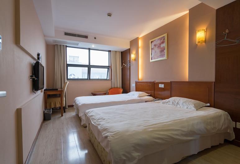 上海浦東金鐘酒店, 上海市, 高級雙床房, 客房
