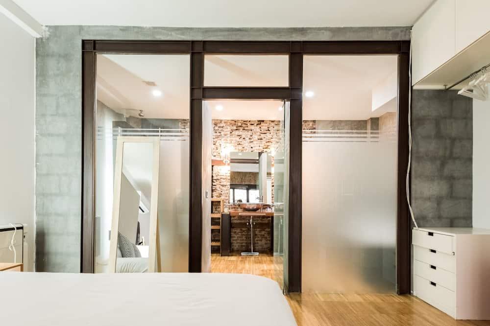 Loft, 1 Schlafzimmer, Balkon - Zimmer
