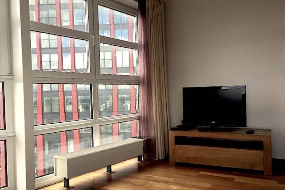 Íbúð - 2 svefnherbergi - Stofa