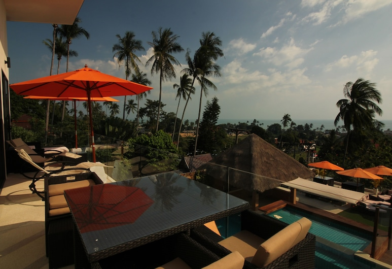 Baan Seaview Hoilday Villas, Koh Samui, Luxury 2-Bedroom Villa with Sea View, Terrace/Patio