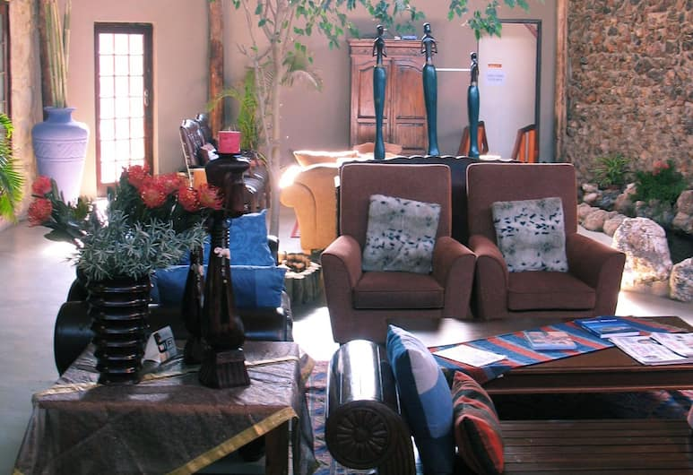African Tribes Guest Lodge & Conference, Kempton Park, Lounge della hall
