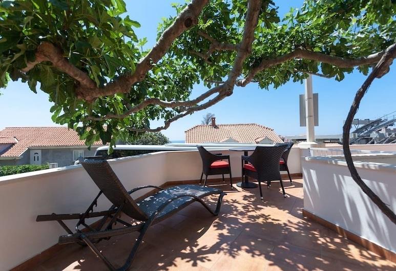 Apartments Cable car, Dubrovnik, Apartamento, Terraço, Vista parcial para o mar, Varanda