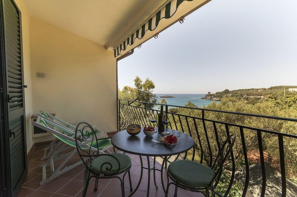 Apartament, 2 sypialnie (trilo A) - Balkon