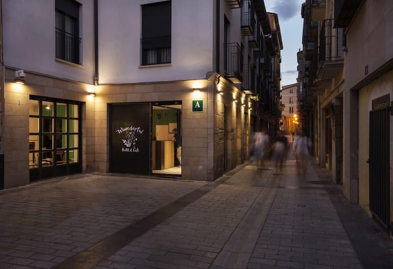 Winederful Hostel & Café, Logroño, Bahagian Luar