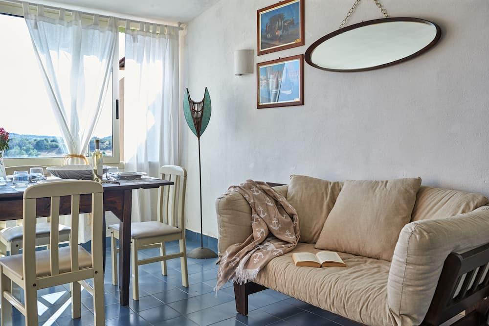 Διαμέρισμα, 1 Υπνοδωμάτιο, Θέα στη Θάλασσα - Καθιστικό