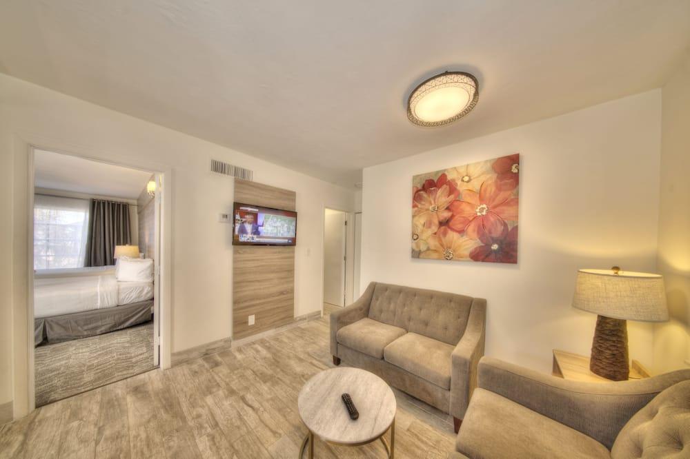 דירה משפחתית, 2 חדרי שינה - אזור מגורים