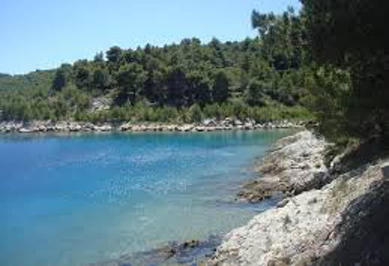 Apartment With 2 Bedrooms in Zlarin, With Enclosed Garden and Wifi - 200 m From the Beach, Šibenik, Ranta