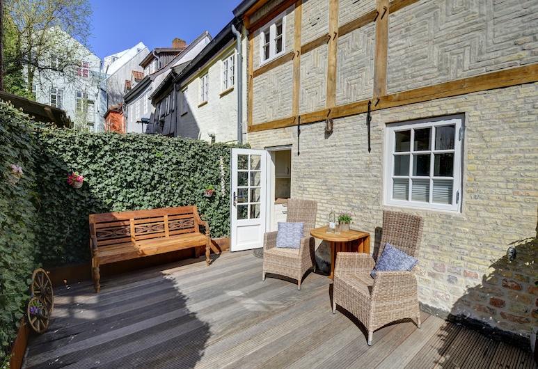 Vacances dans un bâtiment historique - directement sur le magnifique fjord de Flensburg!, Flensburg, Balcon