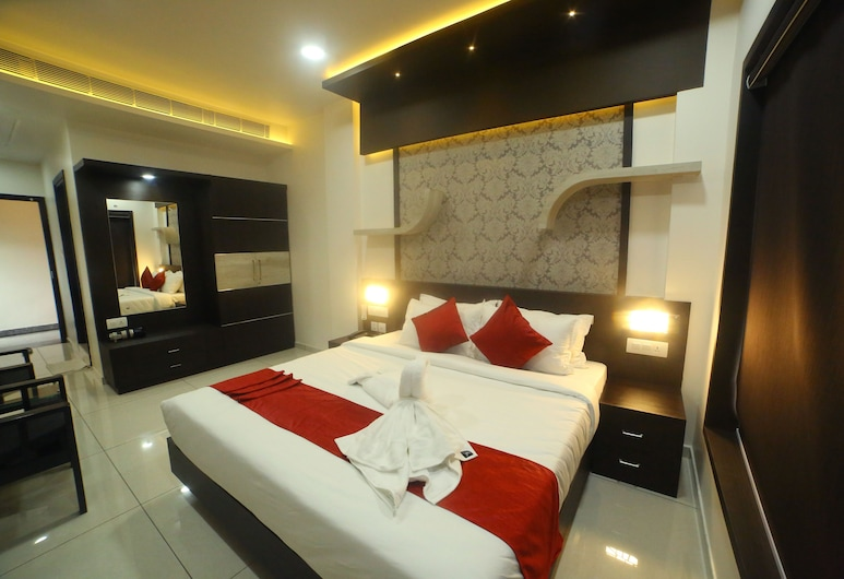 Hotel Le Moshe Inn, Malappuram, Executive Double Room, Bilik Tamu