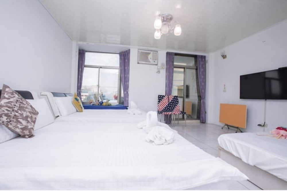 Familienzimmer, 1 Schlafzimmer, Veranda, Stadtblick - Essbereich im Zimmer