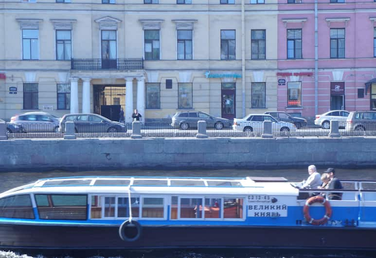Мини-отель Like, Санкт-Петербург, Фасад отеля