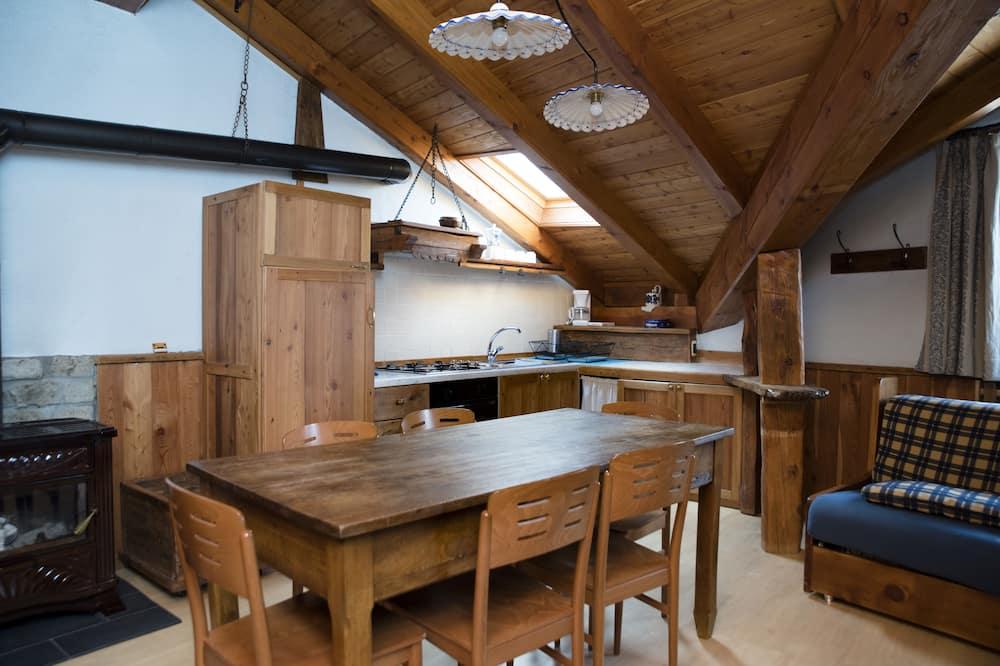 Huoneisto, 2 makuuhuonetta (Fiordaliso) - Ruokailu omassa huoneessa