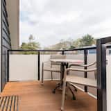 Studio (1st floor, no towels included) - Balkon