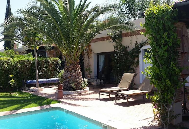 L'Orangeraie de Dyar Shemsi, Issen, Villa (Les Roses), Angolo cottura privato