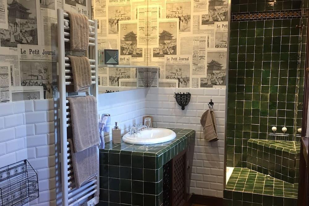 Suite familiar, baño privado, vista al parque (Suite Georges CLEMENCEAU) - Baño