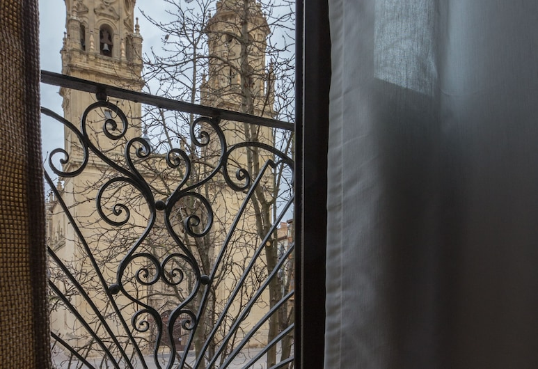 Apartamento con vistas a la catedral, Logroño, Apartment, 1 Schlafzimmer, Ausblick vom Zimmer