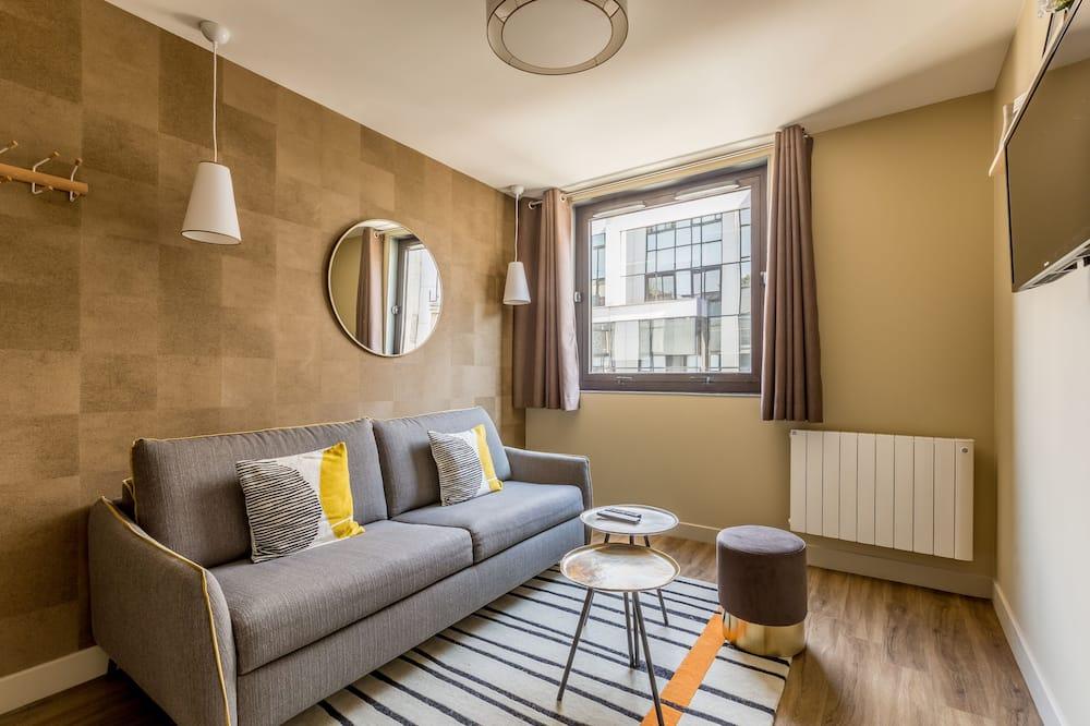Căn hộ tiện nghi đơn giản, Có phòng tắm riêng (Une Chambre) - Phòng khách