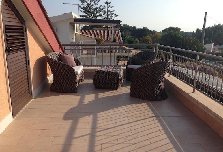 Villa La Scogliera, Siracusa, Habitación doble, balcón, Terraza o patio