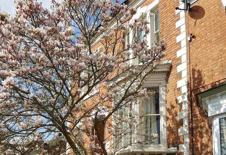 Syston Guest House, Leicester, Facciata hotel