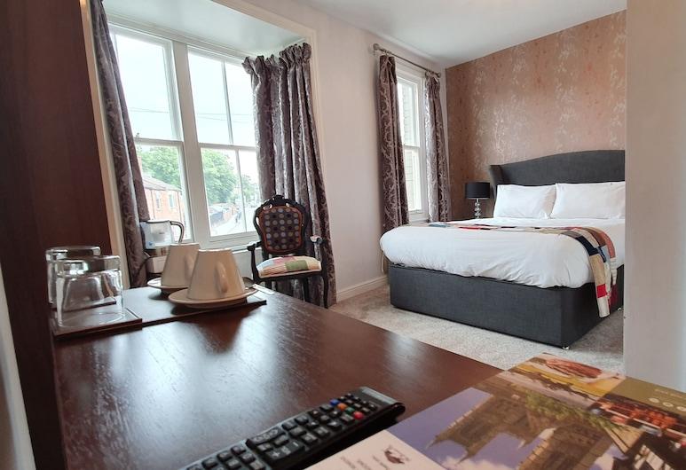 青铜猪旅馆, Lincoln, 双人房, 独立浴室, 客房