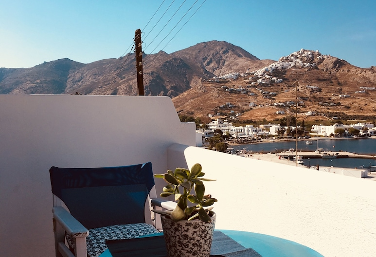 Cristi Rooms, Serifos, Double Room, Balcony