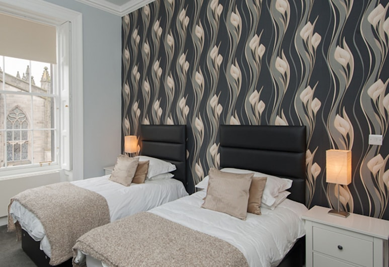 Parliament Apartment, Edinburga, Dzīvokļnumurs, divas guļamistabas, Numurs