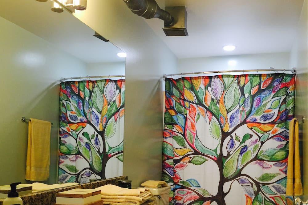 Loft, 1 Schlafzimmer - Badezimmer