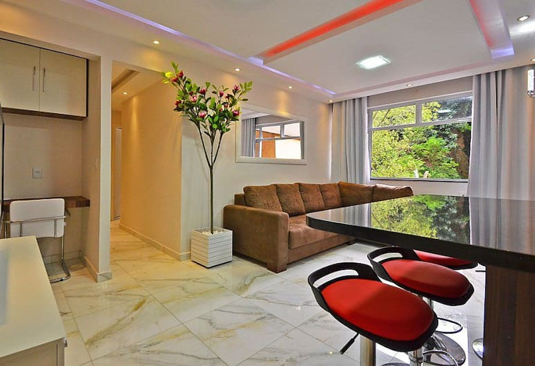 MZ아파르트멘트 아우베르투, 리우데자네이루, 아파트, 거실 공간