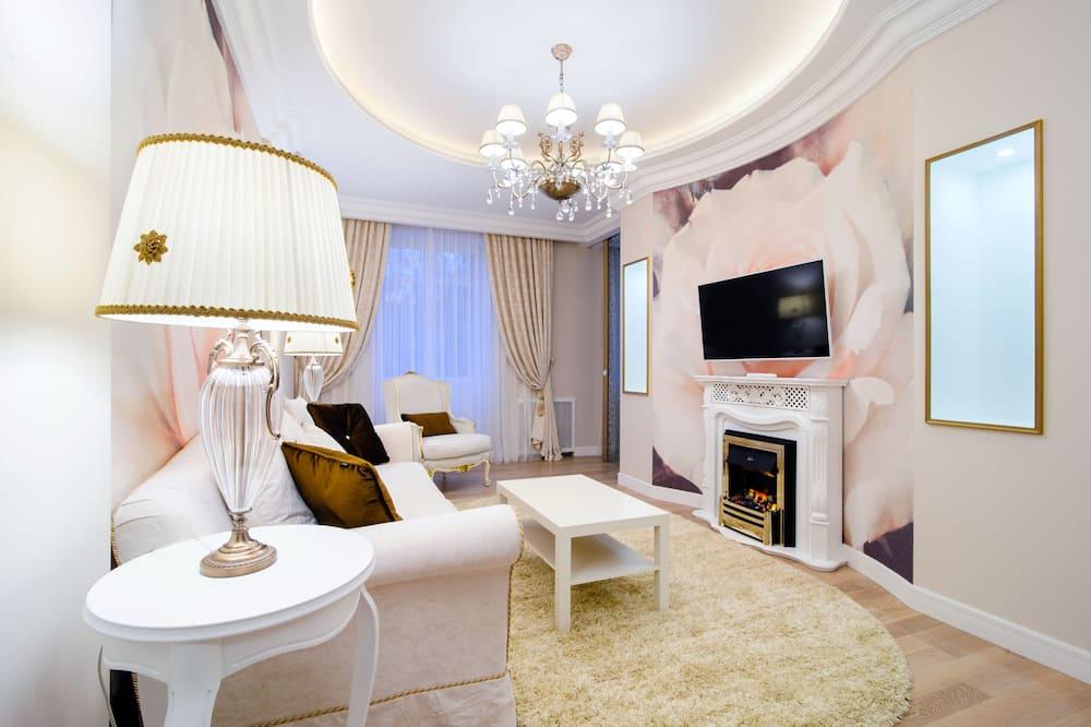 Elite Apartment, 2 Bedrooms - Ruang Tamu