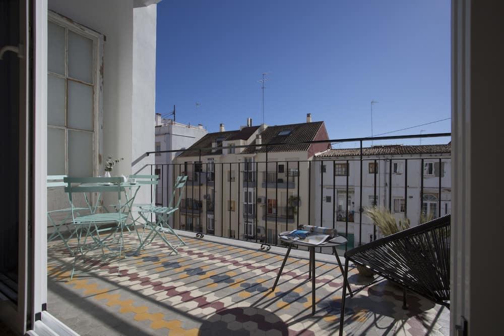 Apartment, 3Schlafzimmer, Terrasse (Parque Central XII) - Balkon