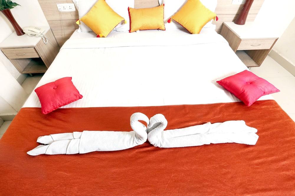 Deluxe-Doppelzimmer, 1 Doppelbett, Stadtblick - Zimmer