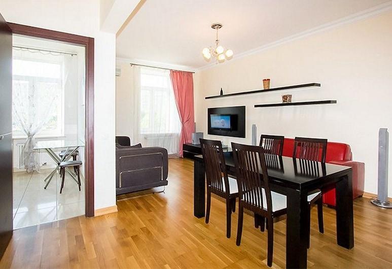 Apartlux on Ploshchad Pobedy, Moskau, Apartment, 2Schlafzimmer, Wohnzimmer