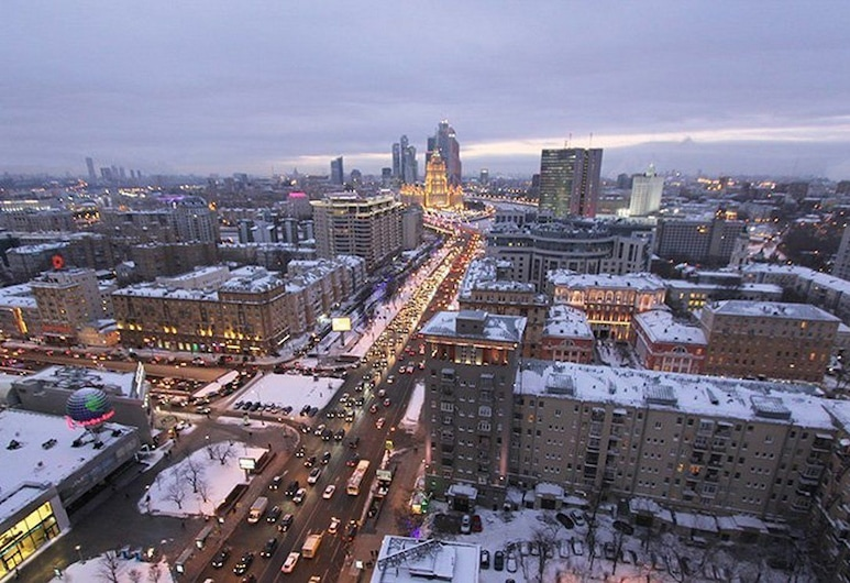 Apartlux Noviy Arbat Superior, Moscow, Apartment, 2 Bedrooms, View from room