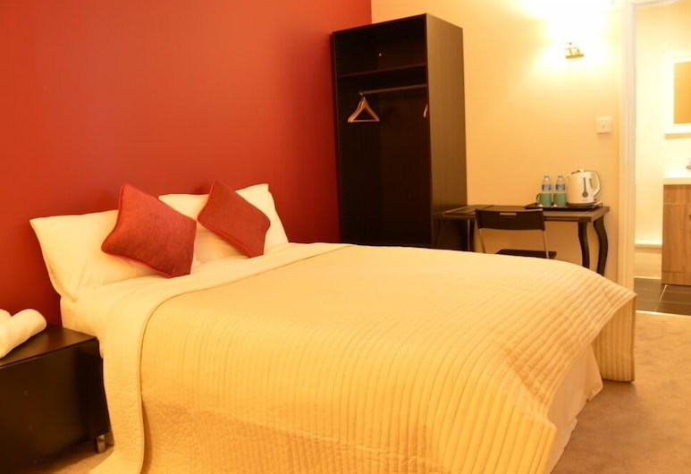 Top Night Hotel, London, Dubbelrum - eget badrum, Gästrum