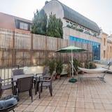 Duplex Exclusive, 2 sypialnie, taras, widok na miasto - Taras/patio