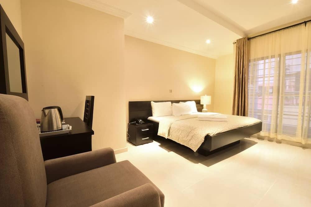 Habitación individual estándar, 1 cama Queen size, balcón - Habitación