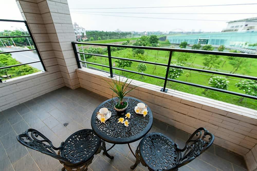 Četrvietīgs numurs, 2 divguļamās gultas, balkons - Balkons
