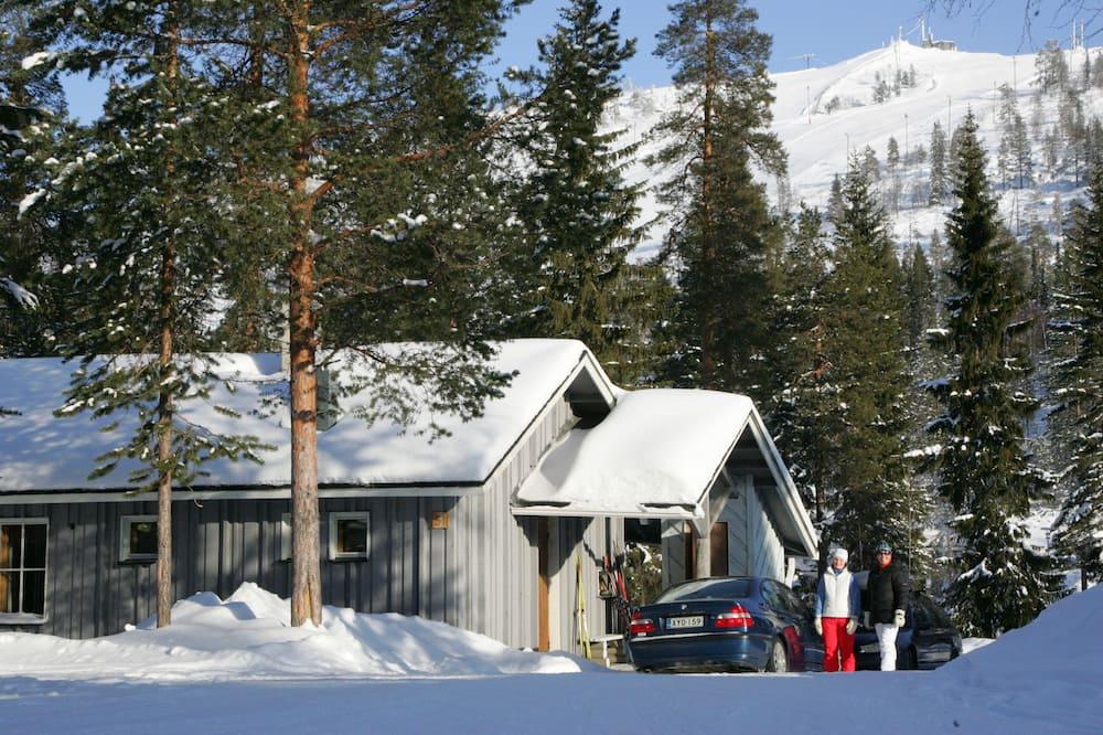 Fritidsbolig, 2 soverom, badstue - Utsikt mot fjell