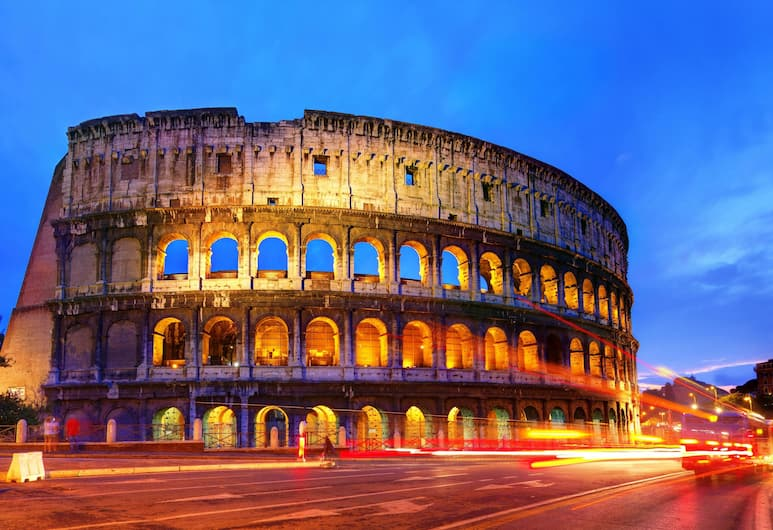 Eighty Four Luxury Rooms, Roma, Esterni