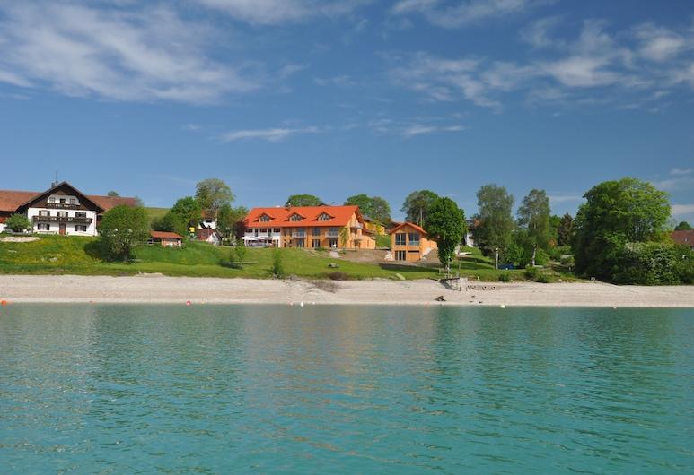 Seehotel und Appartements Schnöller, Rieden am Forggensee, Playa