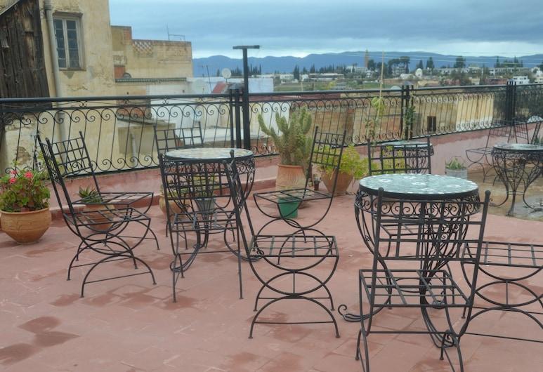 Ines Palace, Meknes, Terrasse/patio