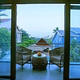 Deluxe Double or Twin Room, Garden View - Balcony