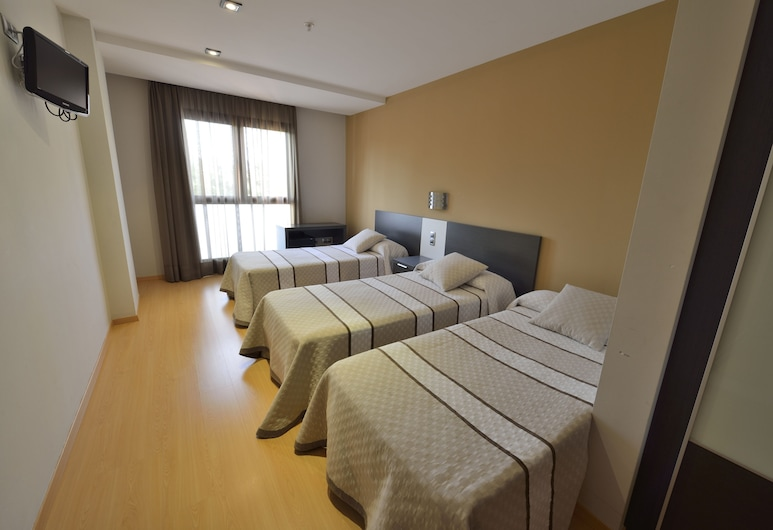 HOTEL CIUTAT D' AMPOSTA, Amposta, Værelse til 3 personer - handicapvenligt, Værelse